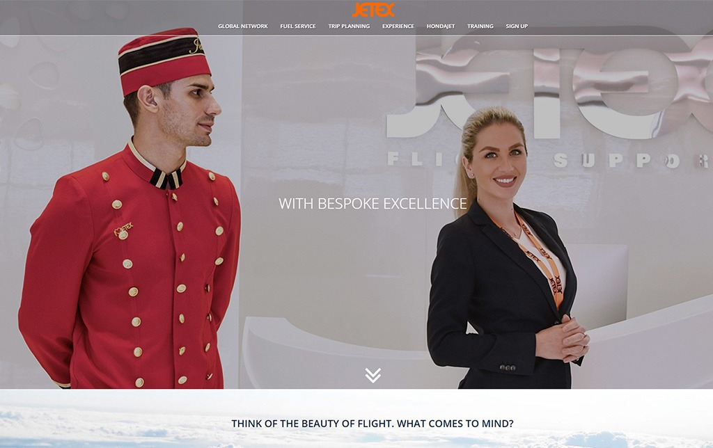 Jetex Website