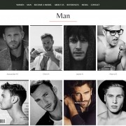 Madison Models Munich Website: Male Models