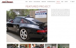 Saluki Motorsport Website: Projects