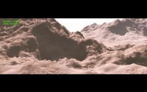 3D Photorealistic: Desert Storm - Mars