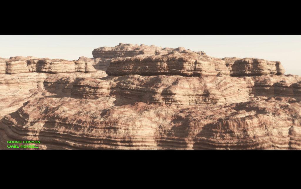 3D Photorealistic: Grand Canyon