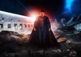 Man of Steel Matte Painting