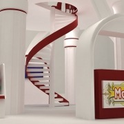 Mohsen Foodstuff: 3D Exhibition Stand 04