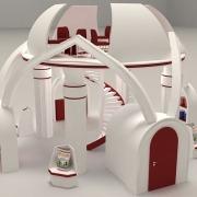 Mohsen Foodstuff: 3D Exhibition Stand 05