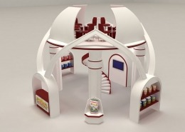 Mohsen Foodstuff: 3D Exhibition Stand