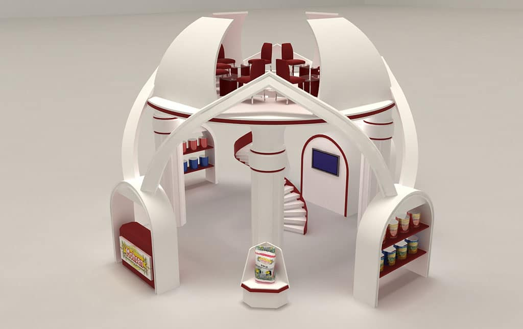 Mohsen Foodstuff: 3D Exhibition Stand