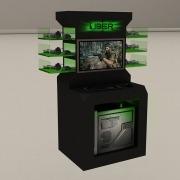 Uber / Roccat: 3D Stand Design